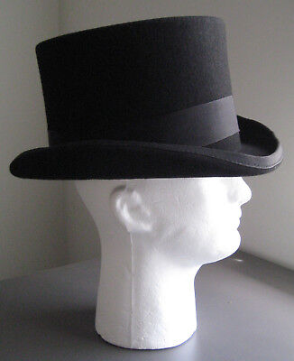 99e7ce8c Dorfman Pacific 569 Men's Top Hat English Victorian Steampunk 5