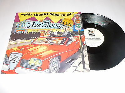 "JIVE BUNNY & THE MASTERMIXERS - That Sounds Good To Me - 12"" Single"