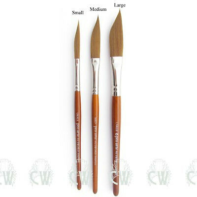 Pro Arte Prolene Sword Liner Brushes Series 9A for Artist Watercolour Painting