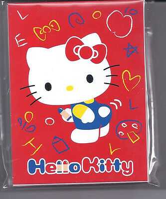 Sanrio Hello Kitty Notesheets Red
