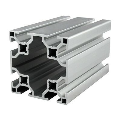 80/20 Inc T-Slot 60mm x 60mm Aluminum Extrusion 30 Series 30-6060 x 80mm N