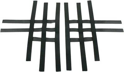 Motorsport Products Motoworks Replacement EZ-FIT Nerf Bar Nets Black 81-0102