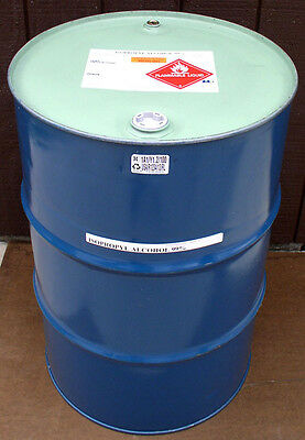 Isopropyl Alcohol 99.8% Very High Grade Minimum 99.8% Pure New 55 Gallon Drum