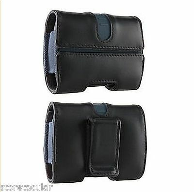 97437 Leather Pouch for Motorola QA30 QA1 Karma Hint Or Universal Case Cover