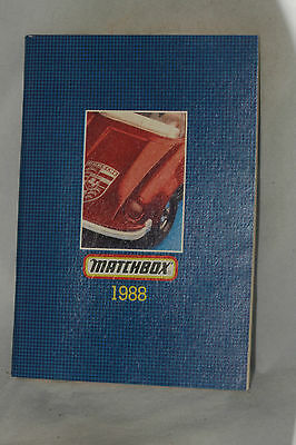 Matchbox 1988 Collector's Catalog, USA Edition, Nice, Complete & Original