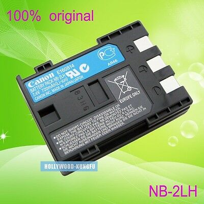 Genuine Original Canon NB-2LH CB-2LWE Battery for EOS 350D 400D G9 XTi S70 S80