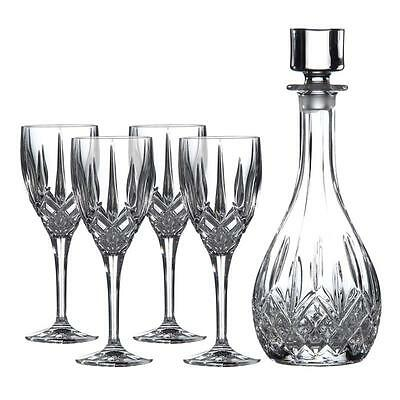 Royal Doulton Wine Decanter & Wine Glass Set