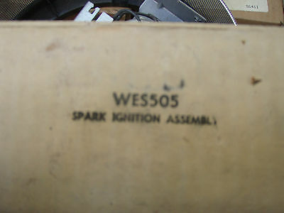 WES505 Automatic spark electrode ignitor assembly for old gas dryers re-light