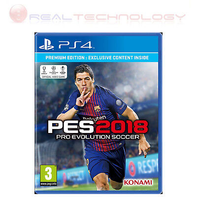 Pes 2018-Ps4 Premium Edition - Pro Evolution Soccer 2018 Multilingua Gioco