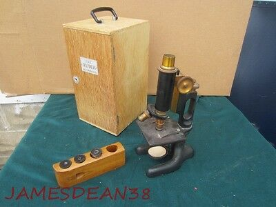Antique Bausch & Lomb Microscope # 123376