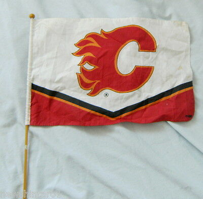 Nhl  National Ice Hockey League Supporter's Flag - Calgary Flames