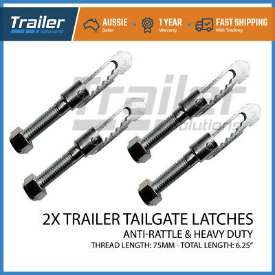 X4 Anti Rattle Latch Luse Gravity Bolt On Luce Fastener Tailgate Trailer Truck