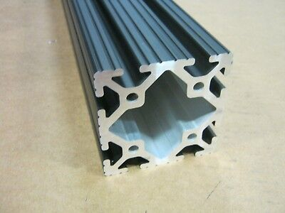 8020 Inc 3 x 3 T-Slot Aluminum Extrusion 15 Series 3030 x 12 Black H1-3