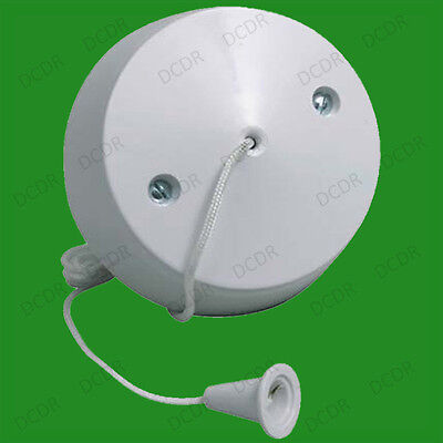 Ceiling Pull Cord Switch 10A 2Way for Bathroom Toilet Light Switch