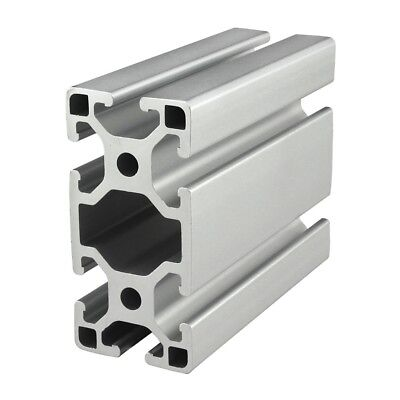 80/20 Inc T-Slot 40mm x 80mm Aluminum Extrusion 40 Series 40-4080-Lite x 610mm N