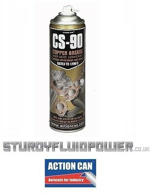 CS-90 (Action Can) 500ml  Aerosol - Copper Anti-Seize Grease