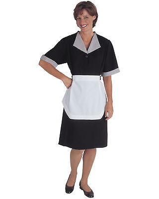 Edwards Garment Women's Short Sleeve Polyester Pockets Housekeeping Dress. 9896