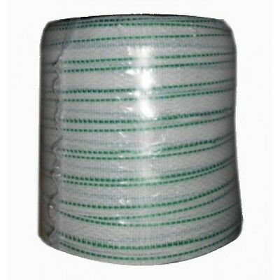200m POLY TAPE for Electric Fencing - 20mm - Fence Kit Stainless Steel Strand (W