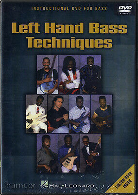Left Hand Bass Guitar Techniques Learn How to Play Tuition Tutor Method DVD