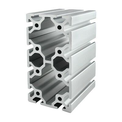 8020 Inc T Slot 80mm x 160mm Aluminum Extrusion 40 Series 40-8016 x 1830mm N