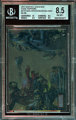 WOLVERINE Marvel Universe Case Topper CT2 X-MEN BGS Uncirculated Joe Madreira