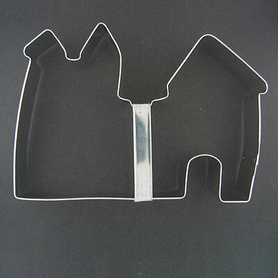 """CASTLE OR FORT 5"""" METAL COOKIE CUTTER TREE WOODS BEACH PARTY FAVORS SUMMER NEW"""