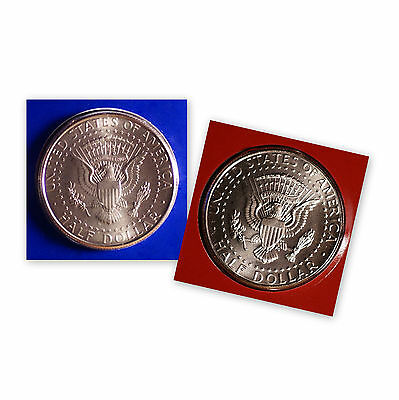 2013 P+D Kennedy Half Dollar Set ~ PD in Original Mint Wrappers ~ No S Proof