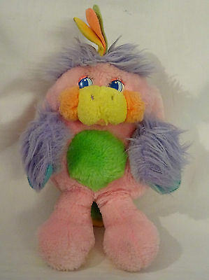 Popples Z'Animaux - Vintage - Popples Perroquet (Parrot) - Mattel 1988