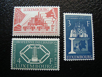 LUXEMBOURG - timbre - Yvert et Tellier n° 511 a 513 n** (A3) stamp luxembourg