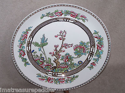 """Vintage Alfred Meakin The India Tree Round Platter 13 1/4"""""""