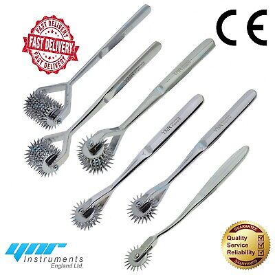 YNR® Wartenberg Pinwheel Sensory Stimulate Neurological Physio Pin Diagnostic CE