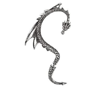 Alchemy Gothic (Metal-Wear) The Dragon's Lure Pewter Ear Wrap BRAND NEW