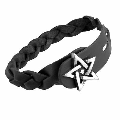 Alchemy Gothic (Metal-Wear) Gaelic Plait Pewter Bracelet BRAND NEW