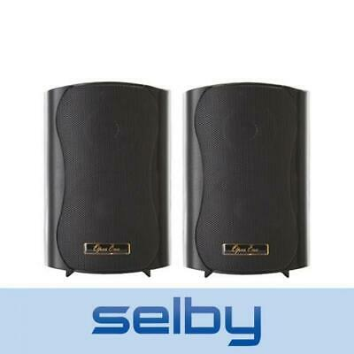 """Opus One 5.25"""" 45W RMS 8 Ohm Indoor Outdoor Commercial Speakers Black"""