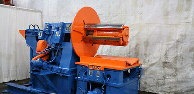 """10,000 LB x 36""""  Wide Dahlstrom Coil Reel Uncoiler Coil Car Punch Press Feeder"""