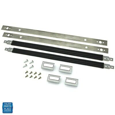1978-88 GM G Body Door Pull Straps Kit - Black 19""