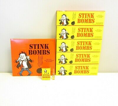 180 Stink Bombs Glass Vials Stinky Smelly  Fart Gas Bomb Smell Wholesale Lot