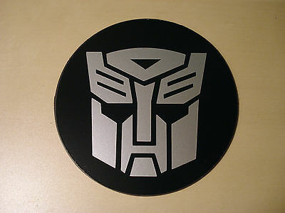 Tax Disc Holder Magnetic Transformers Autobots silver logo fit aston martin, bmw