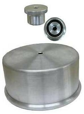 """Dominator Carburator Carb Cover Hat & 5/16"""" Nut Combo Holley"""