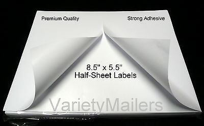 600 Half Sheet Postal eBay PayPal Shipping Postage Labels ~ Strong Adhesive ~
