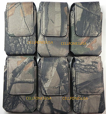 Nylon Holster Vertical Pouch For Otterbox Iphone 4 4S Commuter Reflex Lifeproof