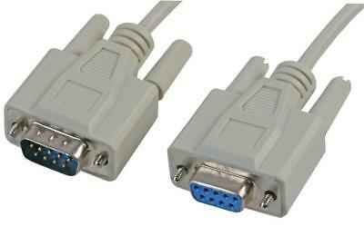9 PIN CABLE Rallonge Cordon SERIE RS232 DB9 MALE FEMELLE RS 232 2m 5m 10m M/F
