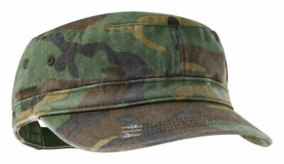 0b9646afc9d2f District Unstructured Loop Closure Cotton Low Profile Military Hat. DT605