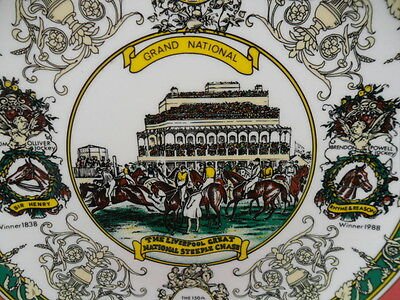 Caverswall, 150th Anniversary of the Grand National Collectors Plate