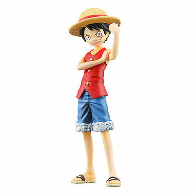 Half Age Figure One Piece Promise of the straw hat Vol 5 Luffy