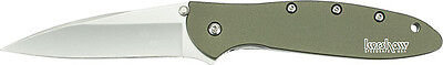 Kershaw Leek Olive Drab Assisted Opening Knife Model 1660OL NEW