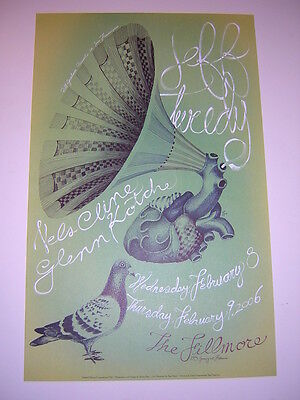 Jeff Tweedy Nels Cline Wilco Limited Ed Fillmore San Francisco Concert Poster