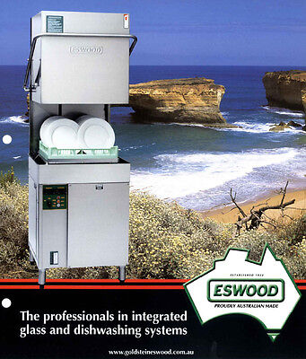 Brand NEW Eswood ES50 pass through dish and glass washer
