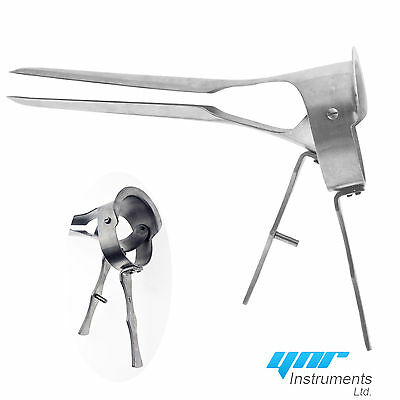 Veterinary Speculum Ranch Farm Cow Equine Instruments Long Handle New Shape YNR