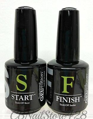 Jessica GELeration  Soak-off BASE & TOP Sealer (START & FINISH) 0.5oz/15ml DUO